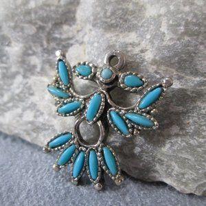Silver Bracelet Charm THUNDERBIRD, Native American